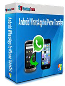 Android WhatsApp to iPhone Migrator box
