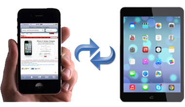 transferring files between iPhone and iPad