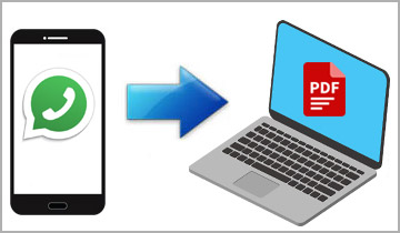 How to Export WhatsApp Messages to PDF on iPhone & Android - iPhone to PC  Transfer