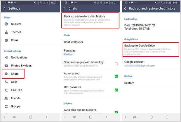 How to Transfer Line Messages from Android to iPhone