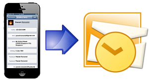 How to copy contacts from iPhone to Micrsoft Outlook with ease