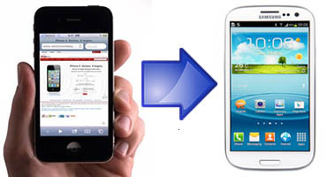 transfer iPhone data to android