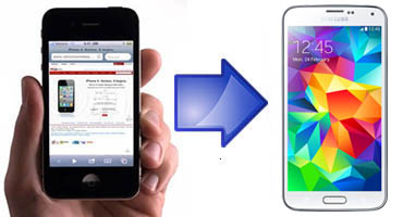 transferring data from iPhone to samsung galaxy s5