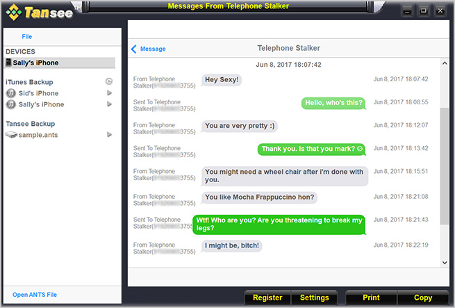 how to read iphone text messages on pc