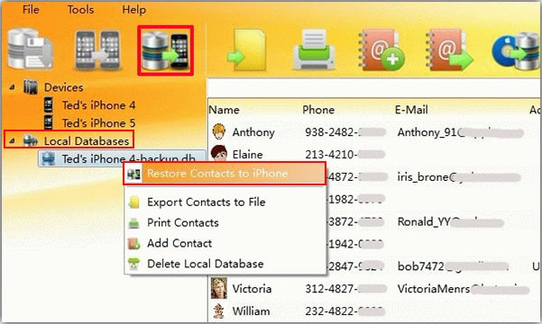 import contacts from computer to iPhone