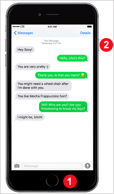 How To Save And Print Iphone Text Message Conversation For Legal