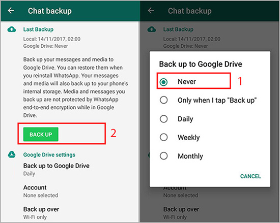 How to Transfer WhatsApp Conversations from Android to