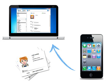 How to Transfer iPhone Contacts to PC with iPhone Contact
