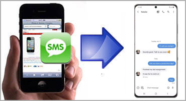 transfer iPhone SMS Text Messages to Android