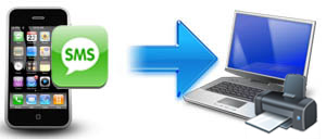 transfer iPhone SMS messages to PC for printing